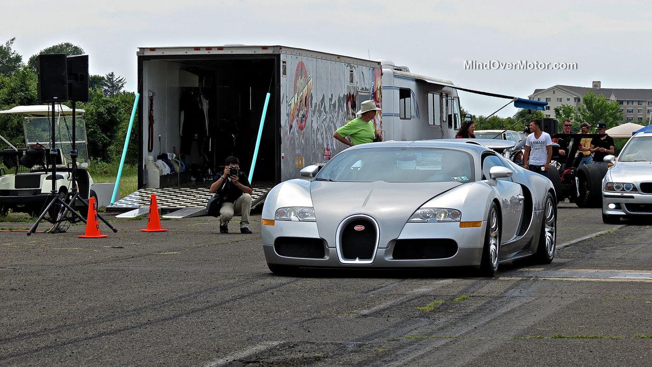 Bugatti Veyron at CF Charities 2