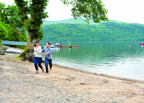 Couple at Loch Lomond Scotland