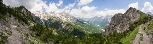 panorama alps landscape hiking olympus albania omd em5 valbonë olympus1250mm