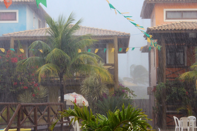 Rainstorm in Itacimirim