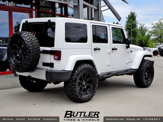 Jeep Wrangler With 18in Black Rhino Glamis Wheels Flickr