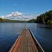 Steg am Tahkenitch Lake