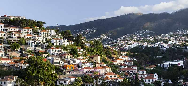 Funchal cityscape - Madeira