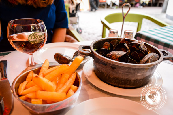 Mussels and Fries in Belgium