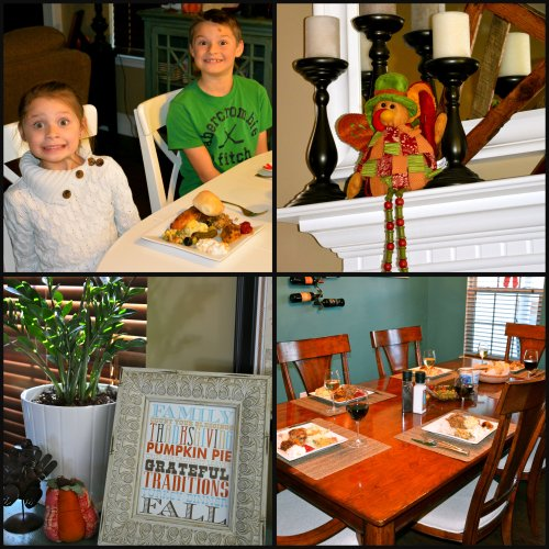 thanksgiving decor and tables