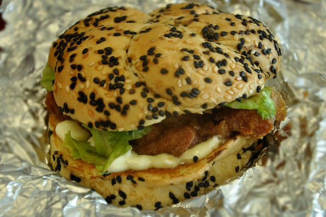 Army Navy Chipotle Crispy Chicken Sandwich