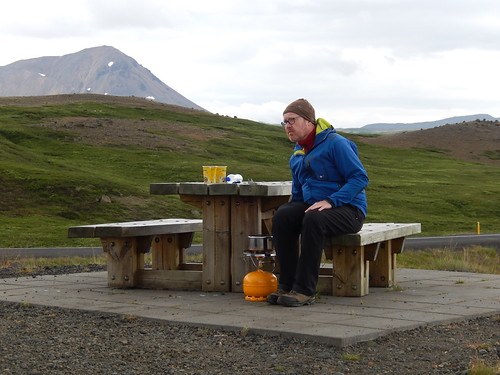 IJsland - Myvatn lunch break - 2