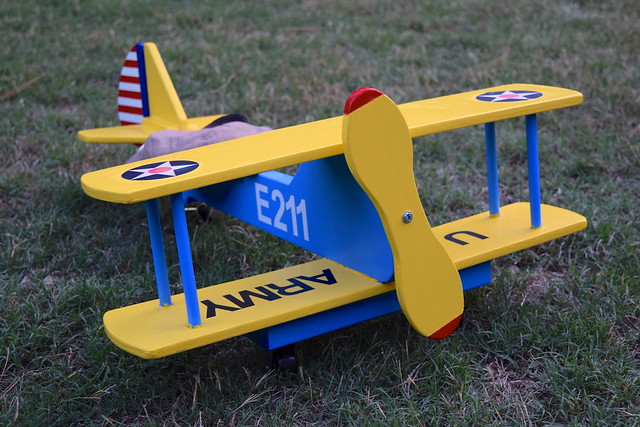 Wooden AAC Plane