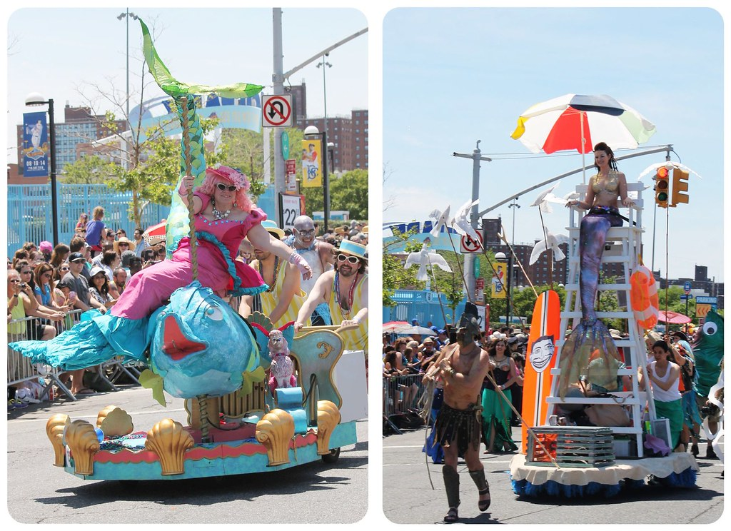 coney island mermaid parade floats