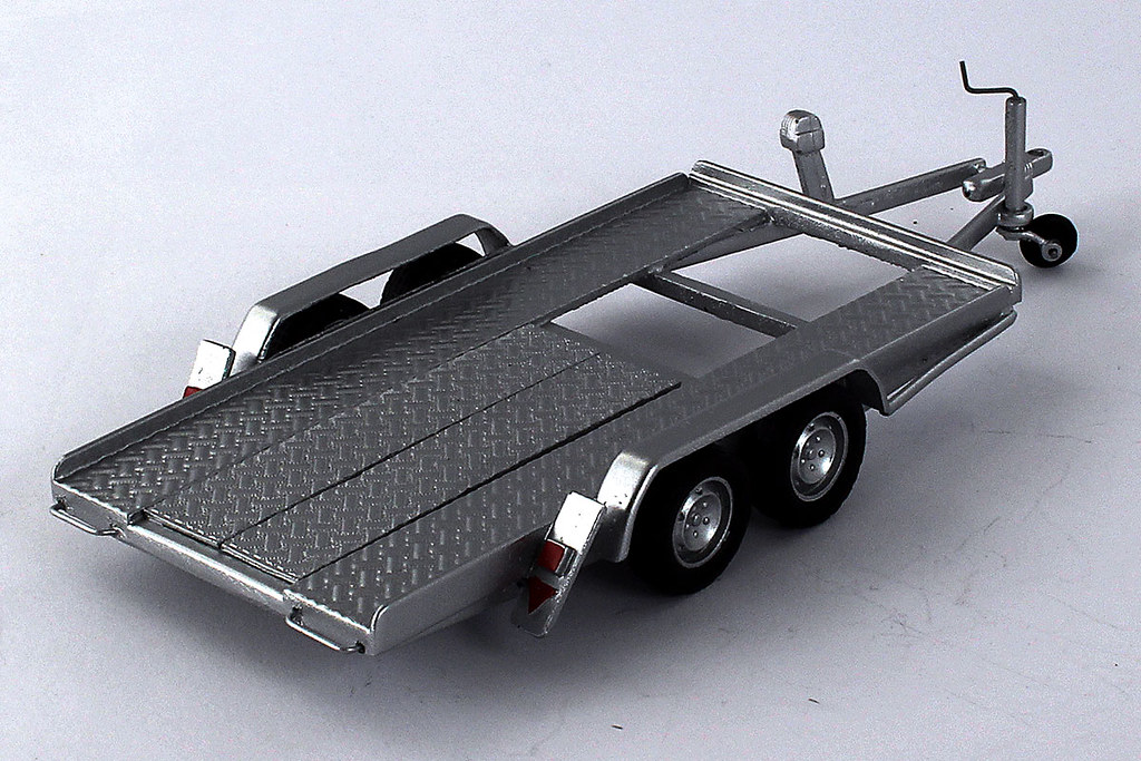 Remorque porte voiture double essieux 1 43 me ebay - Remorque porte voiture double essieux ...