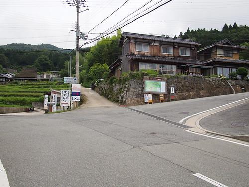 県道507号線どんつき、ここを右へ。