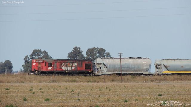 Corto gancho, tren de traslado de material remolcado...