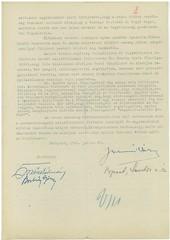 VI/8.b. Viktor Mittermann osztrák politikus feleségének magyarországi bújkálására vonatkozó irat