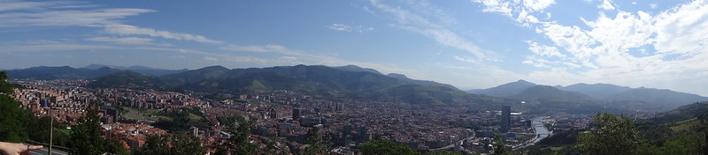 Panorama of BIlbao.