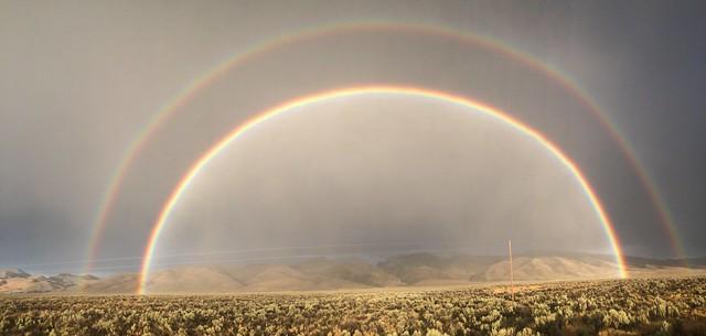 Double Rainbow - Supernumerary Rainbow