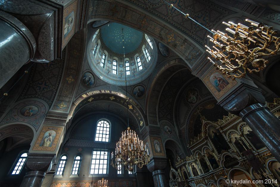 Успенский кафедральный собор внутри. Хельсинки
