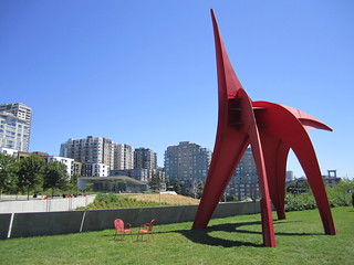 Cader's Eagle at Olympic Sculpture Park