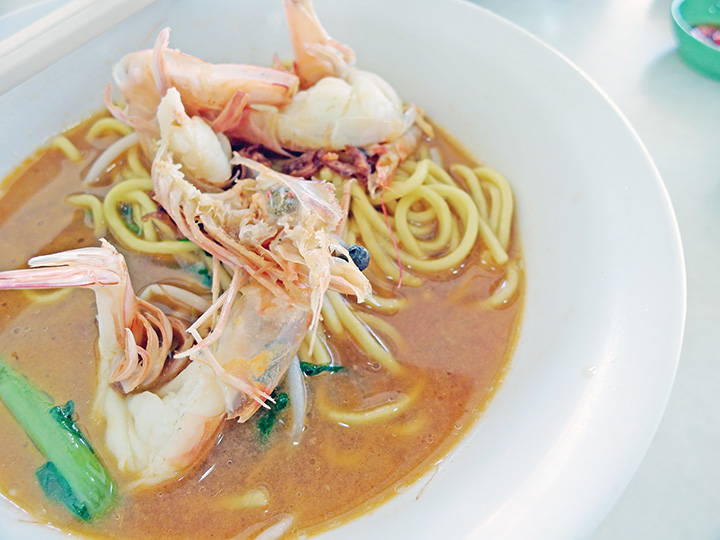 prawn noodles singapore