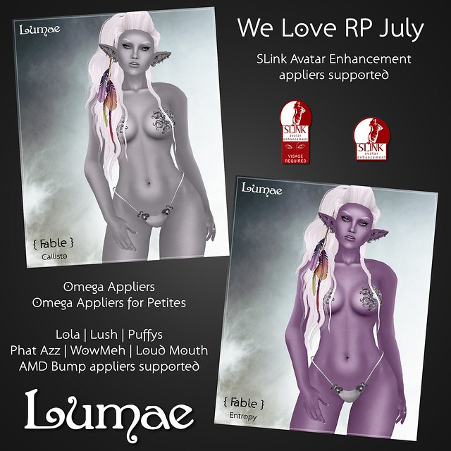 Lumae - August We Love RP - Fable Callisto and Entropy