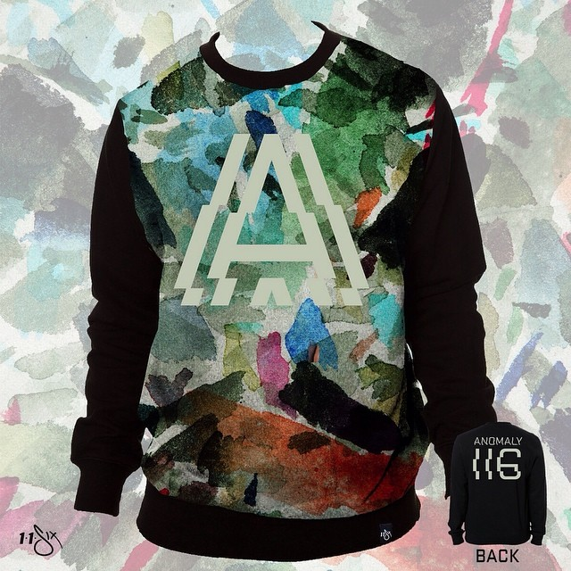 Worked on this @Lecrae Anomaly Crewneck that's available a