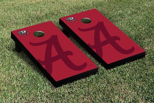 Alabama Crimson Tide Cornhole Game Set Watermark