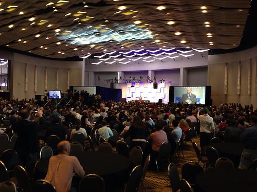 Joe Biden speaking at Netroots Nation in Detroit, 2014