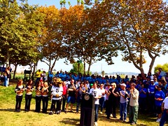 8/9/2014 River Cleanup celebration at Marsh Park