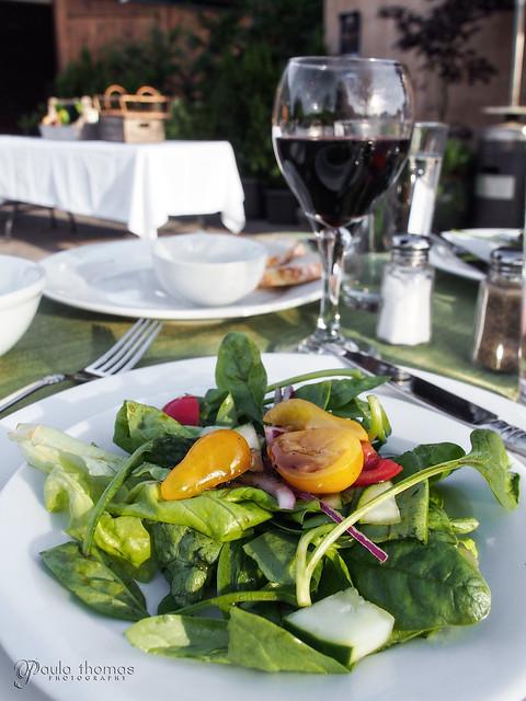 Green Salad with Honey Balsamic Vinaigrette