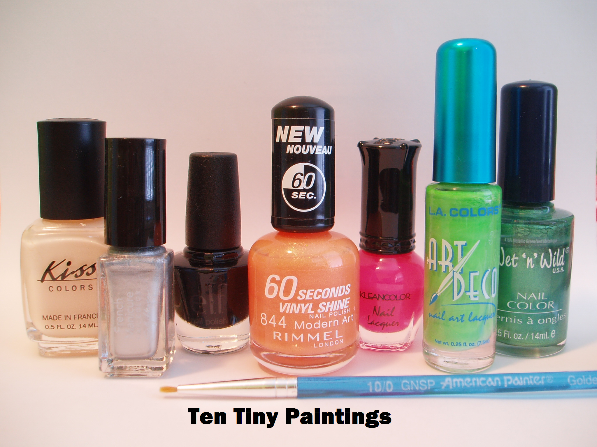 Supplies for Colorful Chevron nail art design inspired by C9 by Champion ad in SELF magazine