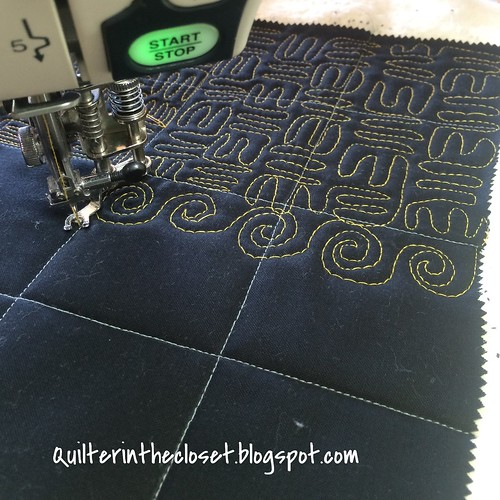 stitching the 3rd quadrant