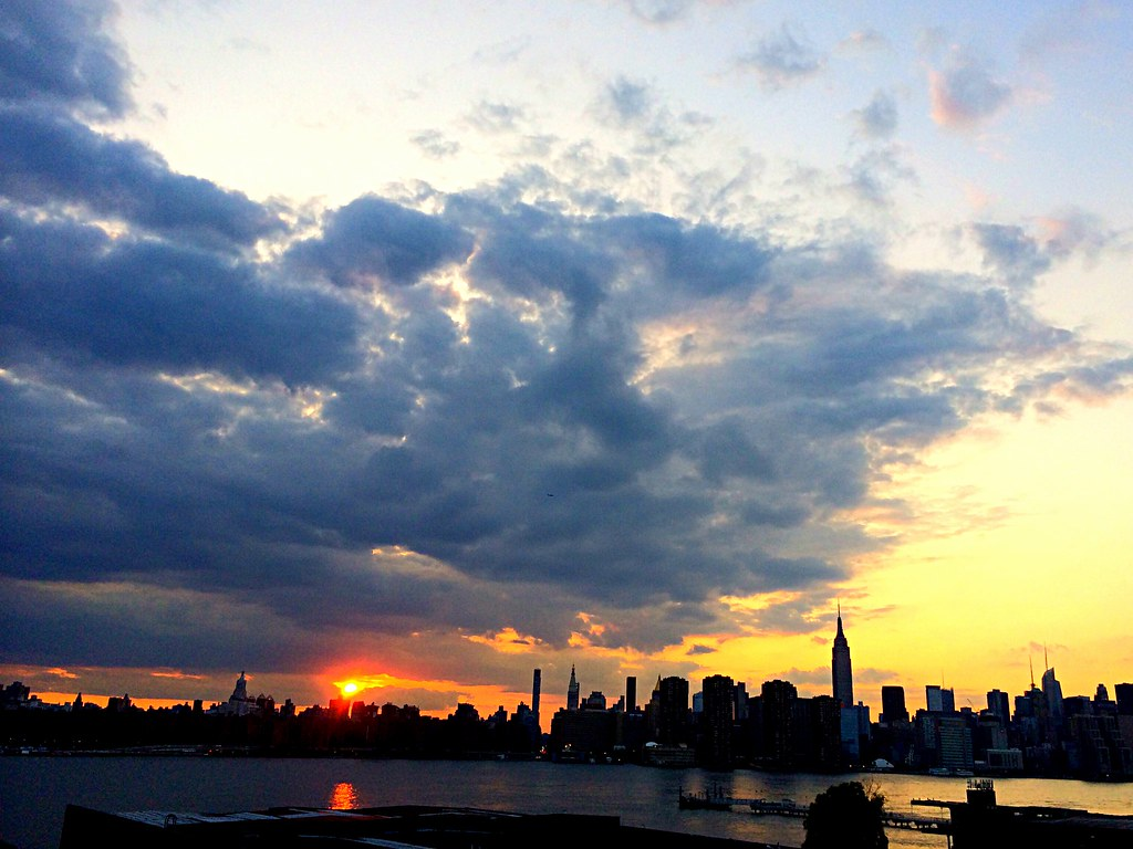 skyline from Greenpoint