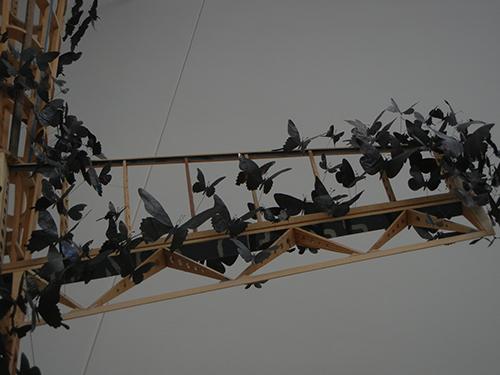 DSCN1147 _ Passage (detail), 2011, Paul Villinski, Blanton Museum, Austin, TX