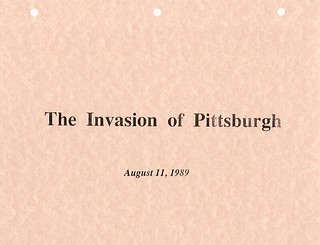 The Invasion of Pittsburgh cover