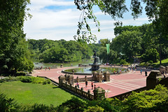 Bethesda Terrace and Bethesda Fountain