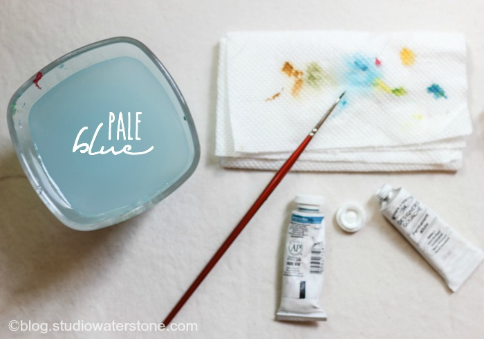 Paint Water Color Inspiration: Pale Blue