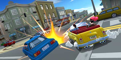 Crazy Taxi: City Rush launch trailer for iOS