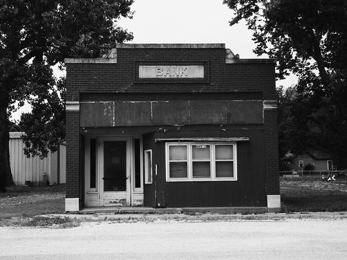 The old bank in McFarland
