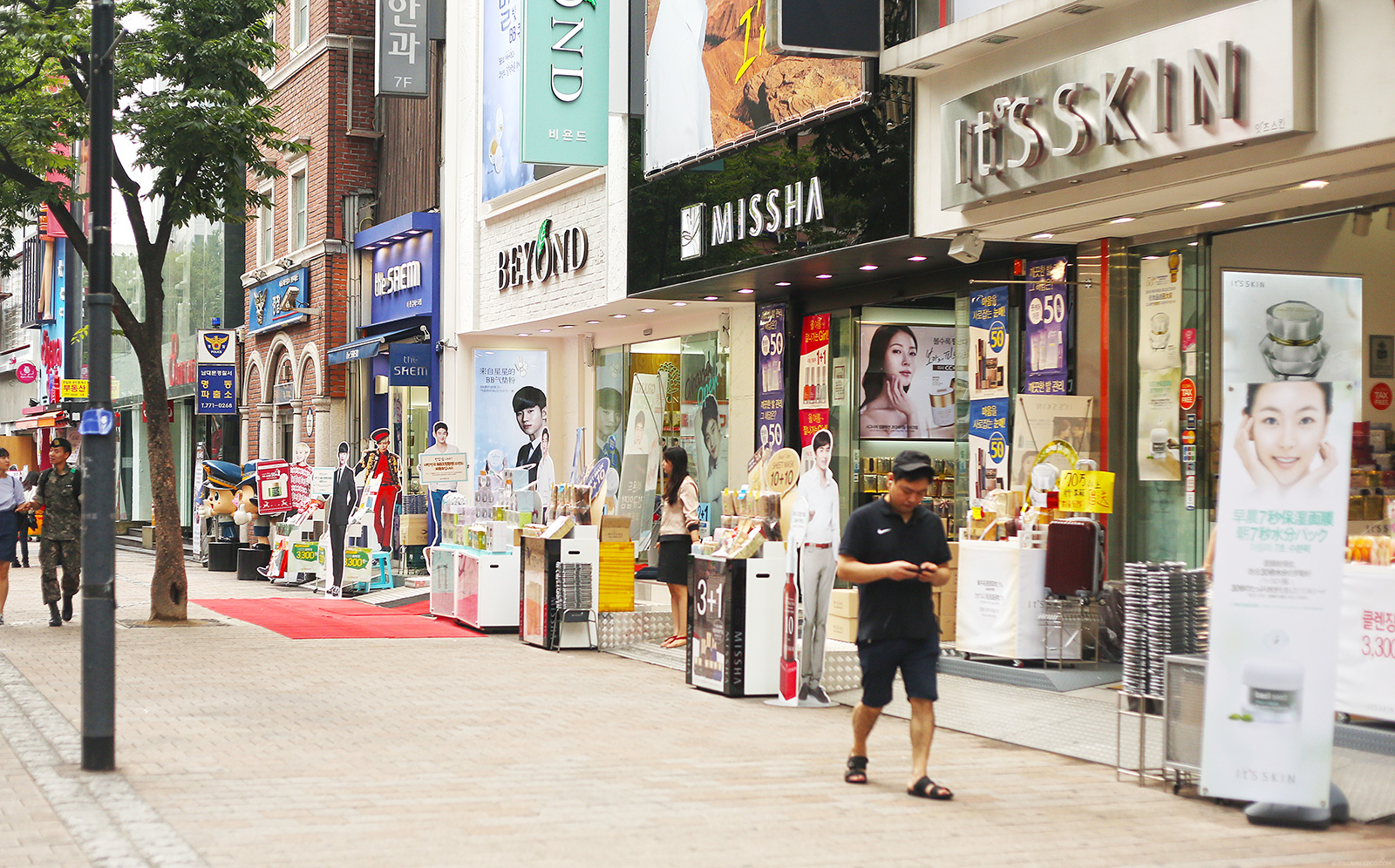 Image result for stores in myeongdong