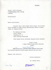 100. Javaslat Straub F. Brunó részére Zita királyné elhunyta alkalmából küldendő részvéttávirat szövegére