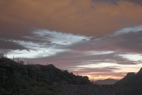 sunrise dawn venus tucson jupiter conjunction