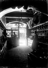 Epicerie Cuaz env 1905. Plaque de verre 9X12