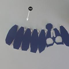 วิธีทำของเล่นโมเดลกระดาษกับตันอเมริกา (Chibi Captain America Papercraft Model) 003