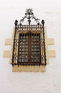 Fenêtre - Sitgès, Espagne
