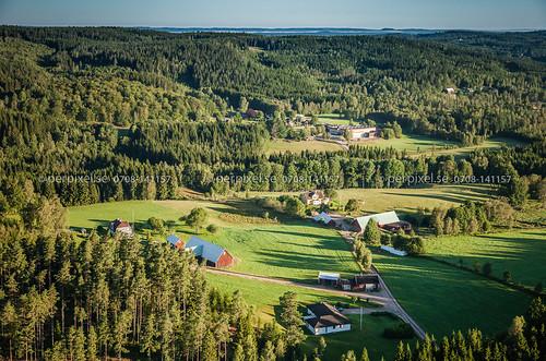 sverige jönköping swe flygfoto kulltorp högshult