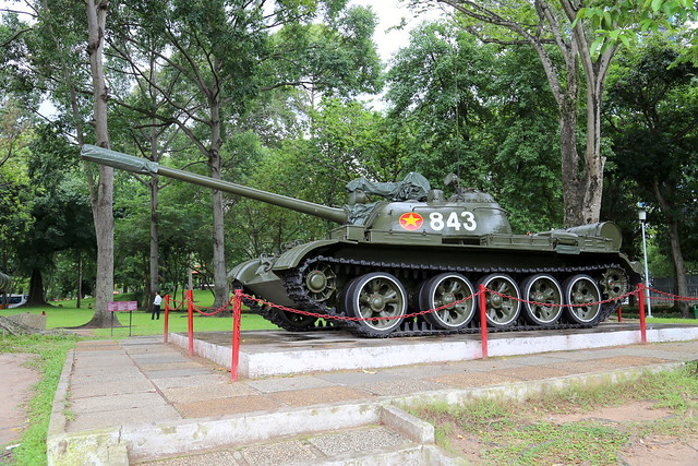 Tank replica at Independence Palace