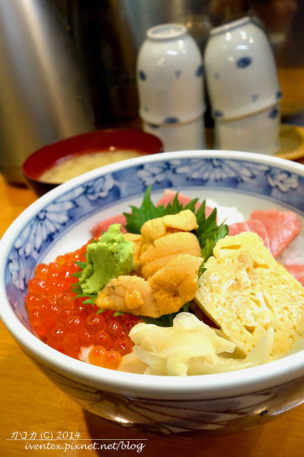 00日本東京築地市場つきじ かんの菅野商店生魚片丼飯