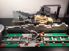 Lego WWIII Military check point