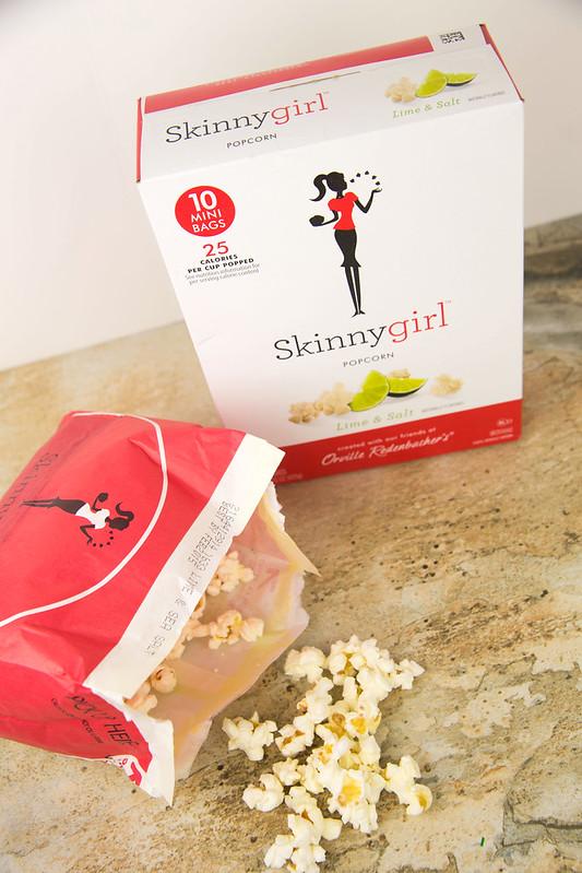 Skinnygirl Lime and Salt Popcorn #SkinnyGirlSnacks #Shop