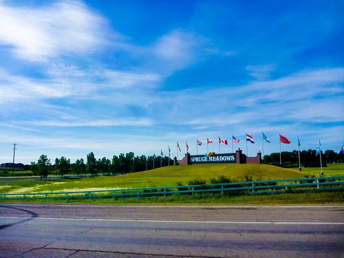 Spruce Meadows @ 1300km