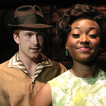 Pictured L-R: Jim Hogan (Huey), Aisha Jackson (Felicia) Photo P. Switzer Photography 2014 -